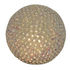 Custom christmas tree decoration styrofoam glitter ball