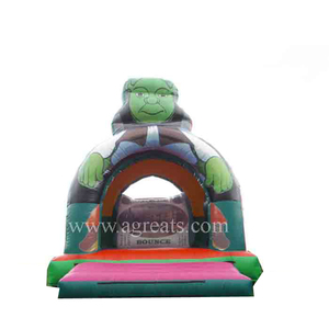 Custom inflatable bouncers cheap inflatable trampoline playground G1072