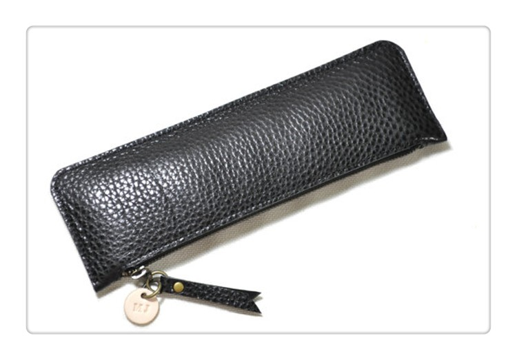 Custom Make Personal Black Monogram Zipped Beautiful Pencil Case