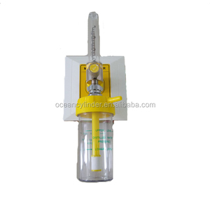 Medical Air Regulator Flowmeter With Ohmeda/Diss/Din Type Gas Outlet For Different Adapter And Humidifier