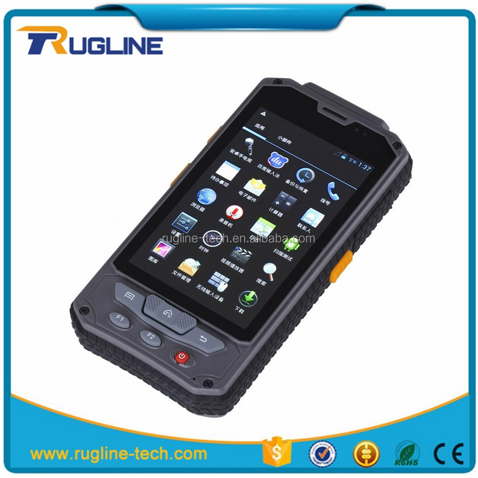 best selling handheld android rugged pda with barcode scanner wifi