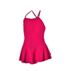 Factory OEM Cotton Kids Camisole Leotards Dancewear Single Strap Dance Leotards Children Ballet Dress Leotards For Girls