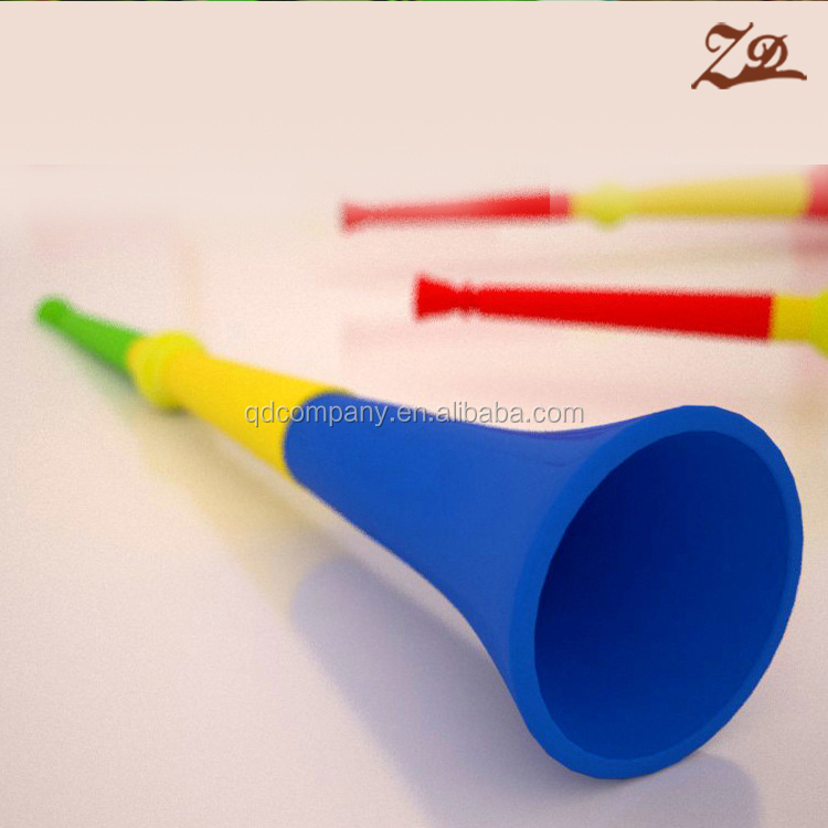 Good quality plastic world cup trumpet cheering horn