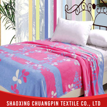 Fashion Design 100% polyester coral fleece blankets