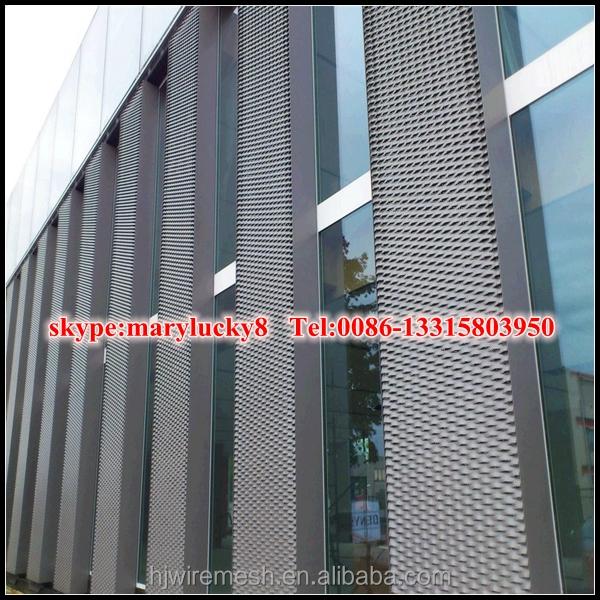Architectural Aluminum Expanded Metal Facade Mesh/aluminum ...