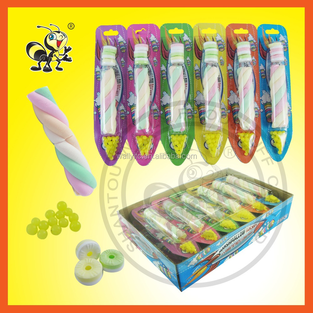 3 EN 1 CANDY(marshmallow + whistle candy+pearl candy)