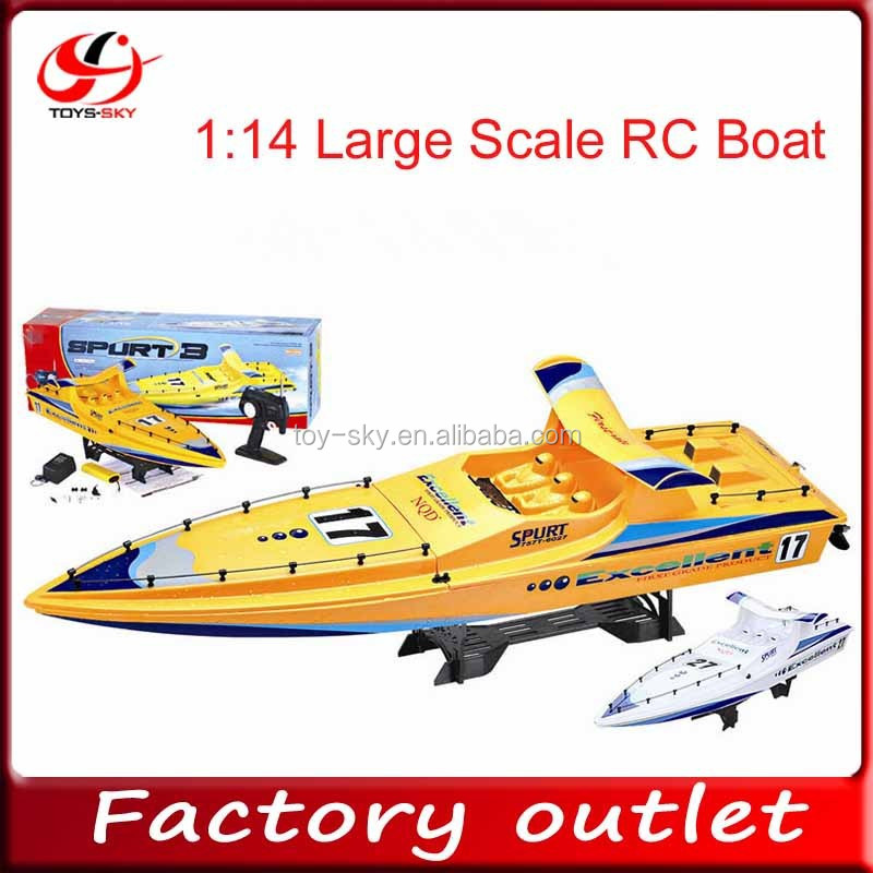 Large size NQD 6027 1:14 scale radio control high speed boat rc boat electric boat