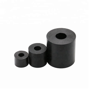 Aging resistant industrial rubber spring buffer for machine