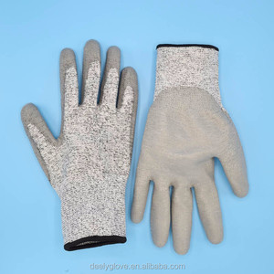 Cut Resistant Gloves Safe Anti-slash Knife PU Cut Proof Resistance Protect Gloves for Cutting and slicing
