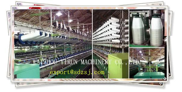 High efficiency  yarn PP rope twisting machine