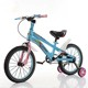 Factory wholesale children bicycle four wheels children's steel bicycle advanced buggies