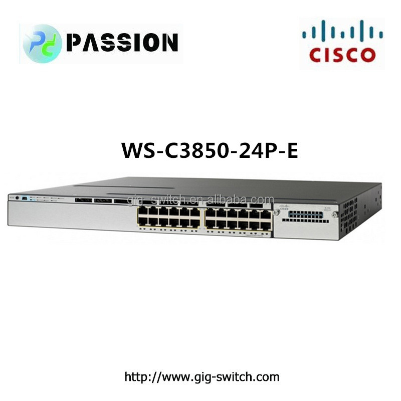 CISCO WS-C3850-24P-E cisco vlan switch 3850 24 port poe