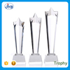 Wholesale cheap custom blank glass trophy star shaped awards trophies