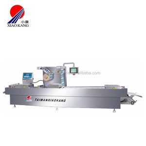 industrial thermoform packaging machine used in the packaging of food, non-food, medical, and pet food applications