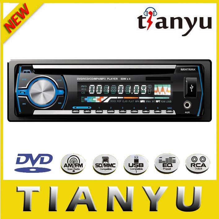 ETONE YT-F6002B 1 din 6.2 car DVD Player with Bluetooth/USB/TV/ISDB-T
