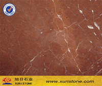 Spanish Rojo Alicante Coral Red Marble Tile 60x60 Polished
