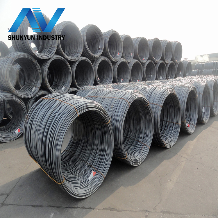 SAE1008 hot rolled low carbon steel wire(SAE1006 SAE1008 diameter 5.5mm 6.5mm 8mm 10mm 12mm 14mm.....manufacture)