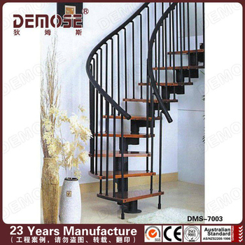 Spiral Staircase Handrail Covers