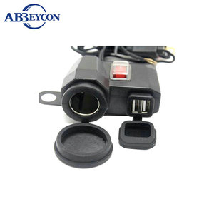 IBWUPP-3B motorcycle IP65 3.1A GPS mobile USB socket motorcycle cigarette lighter