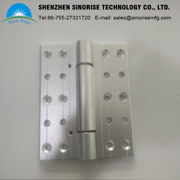10 Years Experience China OEM Manufacturer Customized Aluminum Big Size Hinge For Door And Window