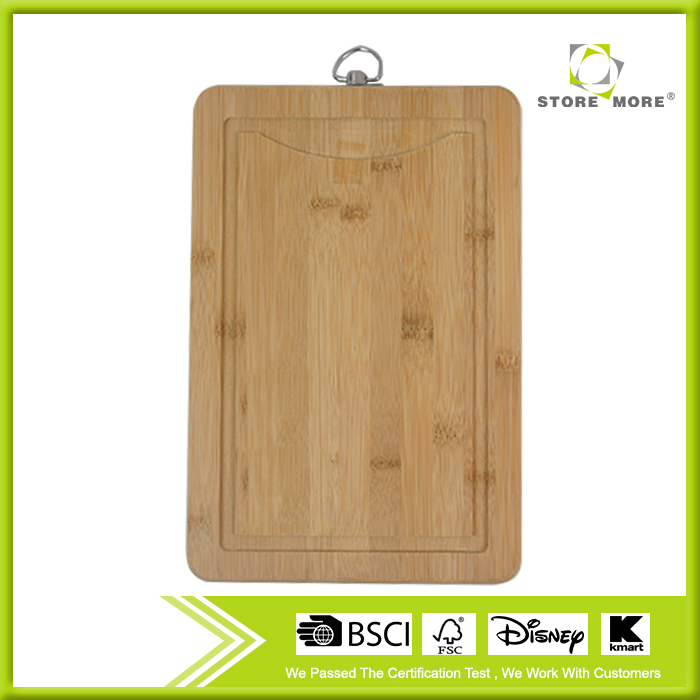 Chopping Board Block Anti-microbial and Germ-resistant <strong>Bamboo</strong> - Heavy Use Cut Board - Great Surface For Your Knives