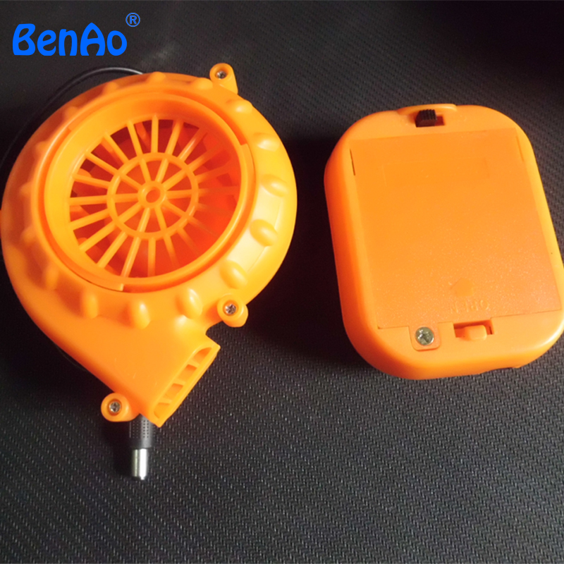C004 Mini Battery Air Cooling Fan for Mascot Costumes Inflatable Fan inflatable blower motor
