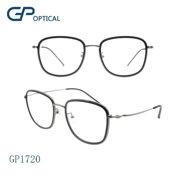 8150bc5e1a GP1720 2017 new design Wholesale china fashion TR90 optical eyewear metal glasses  frame