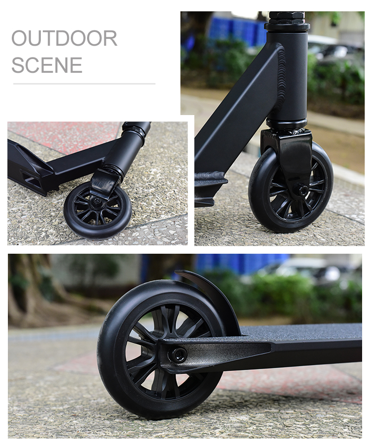 Low price 2019 new products wholesale high quality 108X480mm adult Alloy 6061 -T6 wide 2 wheel weped used kick scooter