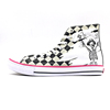 Wholesale Fashion Comfortable High Top Printed Canvas Shoes Kids Sneakers