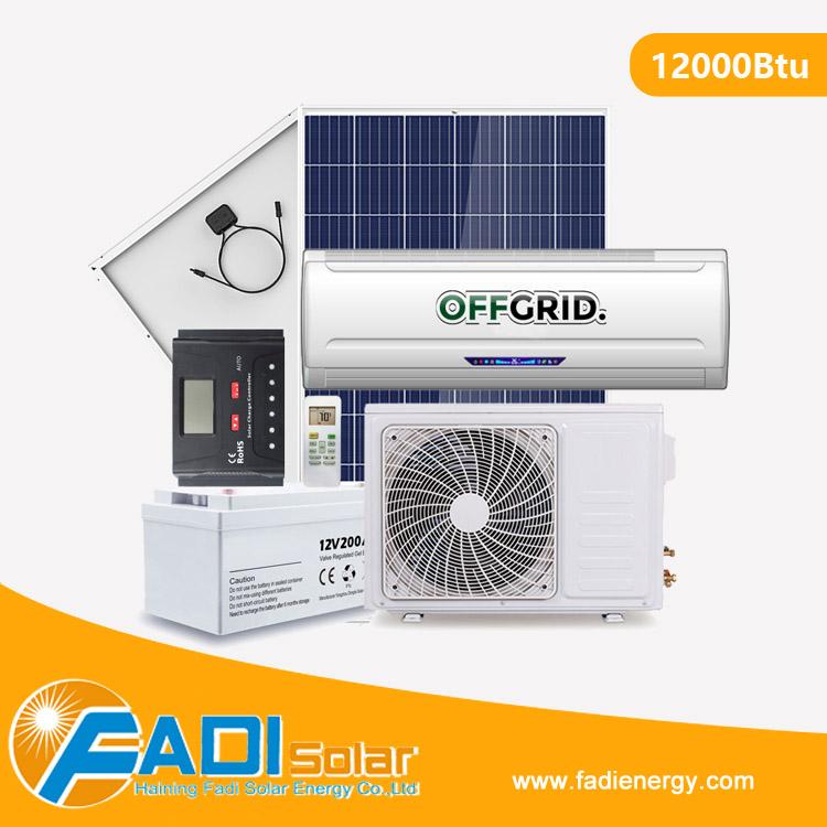 Dc 48v Off Grid 12000btu Solar Air Conditioner (suitable For Region Without  Grid) - Buy Solar Air Conditioner,Solar Panel Air Conditioner,Solar Panel