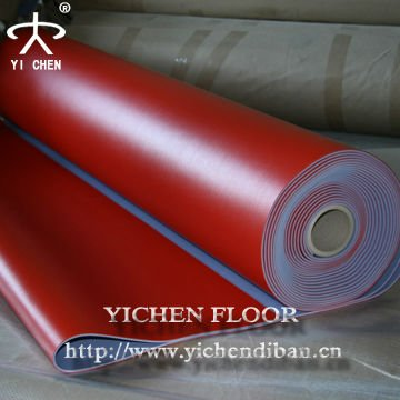 pvc flooring with lichee patterns in rolls