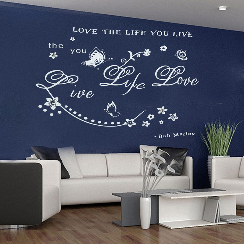 Love Quotes About Life: Popular Removable Wall Quotes-Buy Cheap Removable Wall
