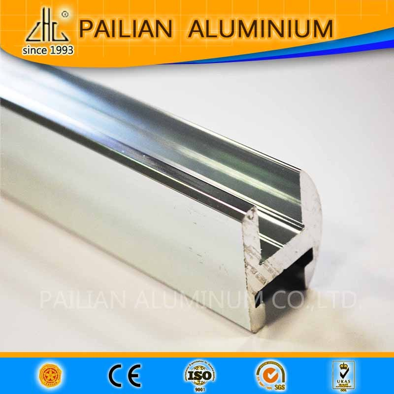 hot! aluminium billet 6463 make hign degree alu polish profiles ,polish industrial aluminiuim pipe / strip alu manufacturer