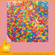 Commercial Grade Colorful Crushproof Plastic Soft Ocean Ball Children Play Pit Ball For Baby Kid Toy Swim Pool Tent