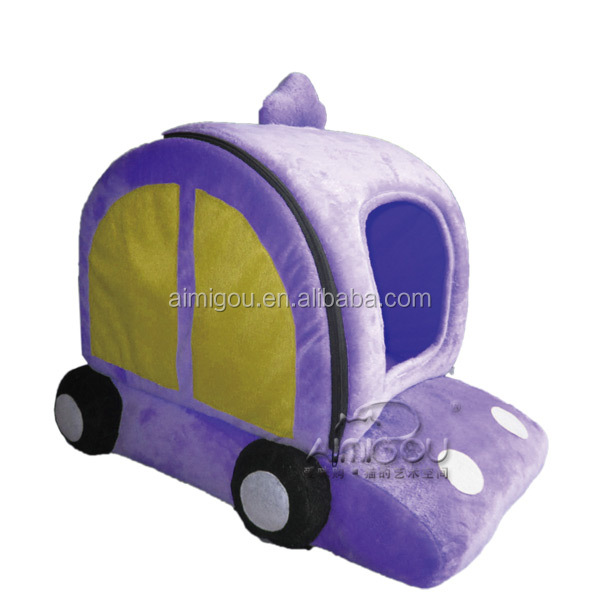 15 Years factory pet house wholesale dog bed car shaped pet home soft dog bed house