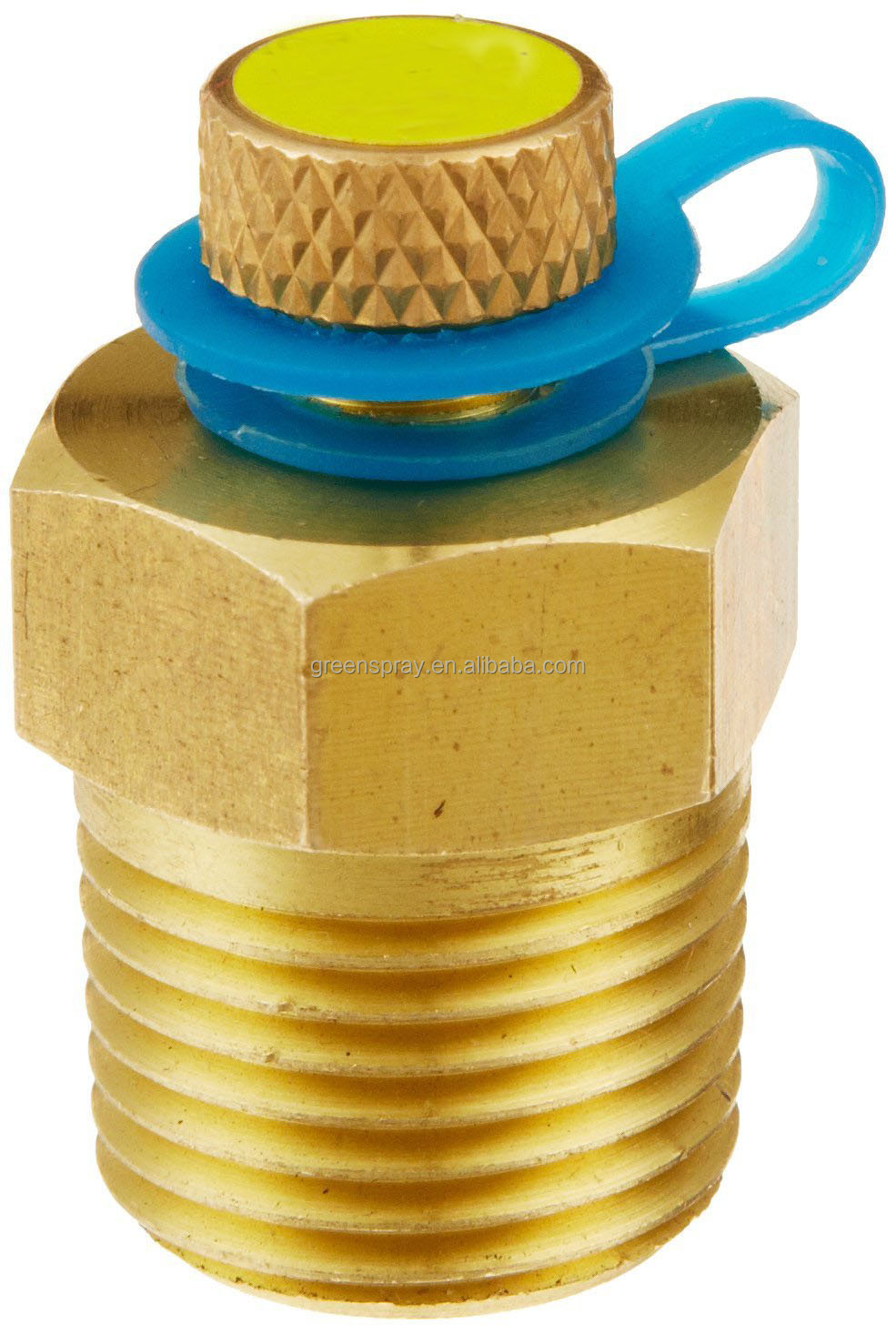 PIC Gauge PLUG Brass Test Plug 1/2 NPT/BSPT Connection Size 1000 psig at 200 F Maximum Operating Pressure