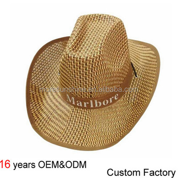 1781e62f1a9 2018 made in china caomao Custom Paper top sell straw hat cowboy hats