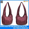 Hot selling popular fashion beautiful washed single strap shoulder bag for ladies