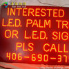 full color programmable screen scrolling message LED display sign