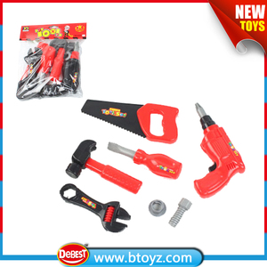 kids plastic maintenance tools play set firefighter rescue tool toys