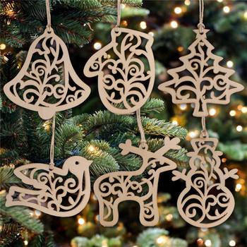 adornos para árbol de navidad caseros