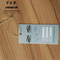 printed paper Hang tag luggage price tags for gift bookmarks clothing cardboard hair labels