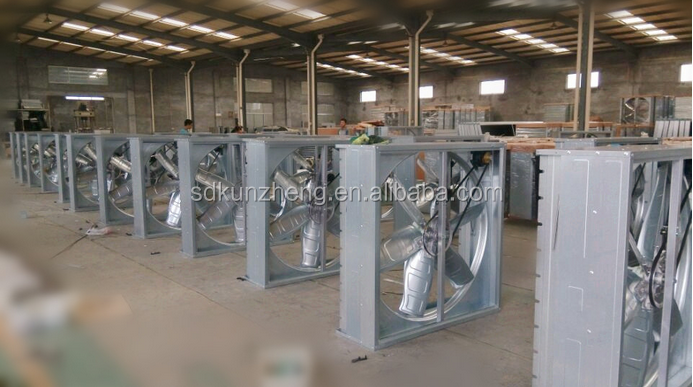 KUNZHENG HOT SALE push-pull fan/commercial extractor fans for pig farm/belt tension pulley