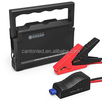 c0469624bec2 Car Jump Starter With Smart Jumper Cables Battery Booster With Built ...