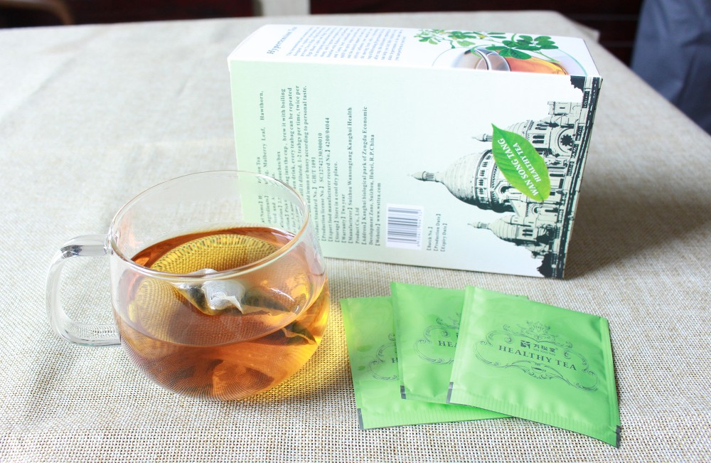Wansongtang HBP health herb tea for lowing high blood pressure hypertension tea - 4uTea | 4uTea.com