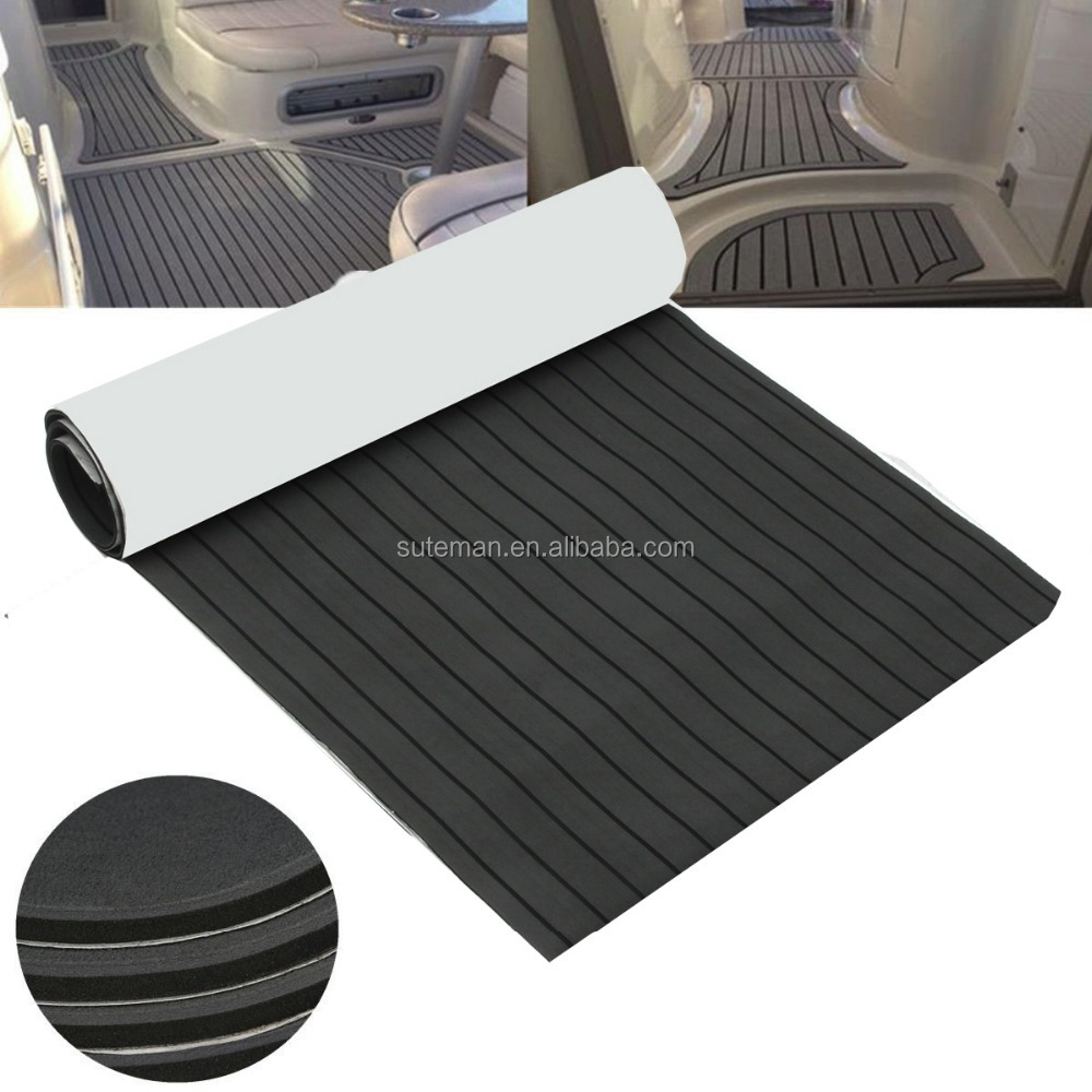 Marine Grade Closed cell EVA Foam Boat Decking Non Skid Mats Faux Teak Marine <strong>Flooring</strong>