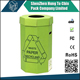 Foldable 6mm thickness strong paper cardboard recycling bins