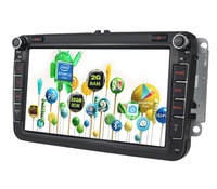 8 inch RAM 2GB android 5.1.1 car stereo for sale For VW GPS maps with MirrorLink Blutooth 4.0