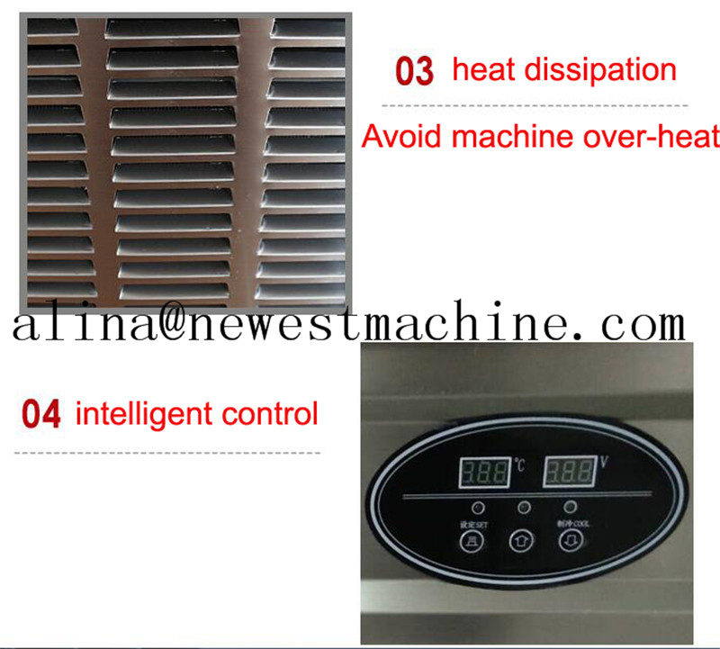 Excellent quality fried ice cream maker/fried ice machine/fried ice cream roll machine Turkey