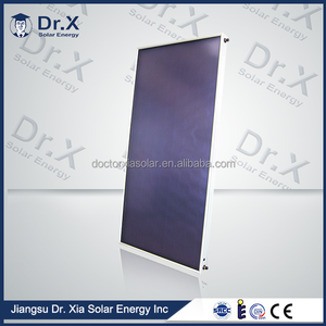china supplier 2m2 flat plate solar collector